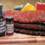 Sticky Fingers famous, award-winning ribs, BBQ Sauce and Memphis Dry Rub