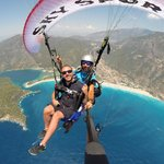 Paragliding with sky sports