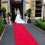 At the Wedding Entrance