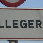 Entrada a nuestro pueblo Lleger