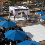 Open Air Terrace (Wedding Setup)