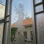 Glasfenster Treppenhaus