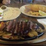 Sizzling Steak Fajita's & Fish & Chips