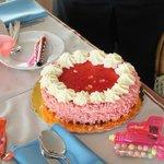 torta offerta a mia figlia per suo compleanno