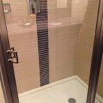 nice shower.