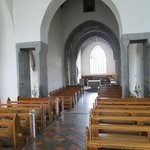 The tastefully restored Abbey is an active place of Roman Catholic worship...