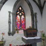 The sanctuary of the now actively functioning Abbey...