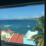 Actual view from living room in St. John building, 642