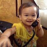 """My baby saying """"hello"""""""
