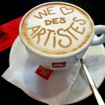 Foto van Le Cafe Des Artistes