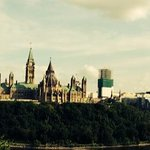 Overlooking Parliament Hill