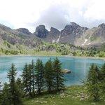 le Lac d'Allos à proximité