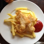 Kids fish and chips!