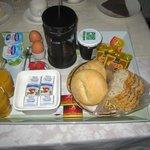 breakfast brought to your door