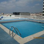 Roof top pool - Expo hotel