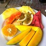 fruits petit-dejeuner