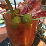 Bloody Mary- Made to order from a checklist ... the Bacon is a MUST HAVE!  TRUST ME!