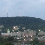 Mont Royal and lit Cross