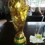 I won the World Cup at Mike's!
