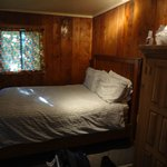 bed in cabin