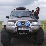 IceAK super jeep experience with Thordur