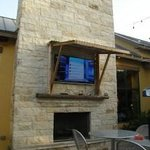 Outdoor TV and Fireplace...Just like HOME!