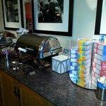Buffet petit déjeuner gratuit