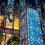 Cathedral of light-Rouen