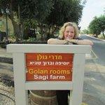 Enterance to the Golan Rooms