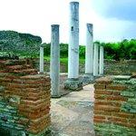 Romuliana, Roman palace at entrance