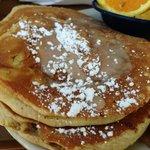 Cinnamon Roll Pancakes - Yum!