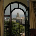 View of the Capitolio from our room