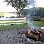Enjoy nightly campfires