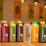 Our line of fresh delicious cold pressed juices!