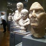 Roma en el museo