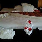 notre chambre privilége, tout confort!!