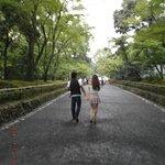 Camino al Pabellón dorado, Kyoto
