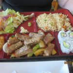 Bento Box with Hibachi Beef