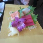 Sashimi Meal - beautiful presentation, great taste