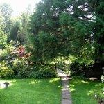 Garden at Moulin de Fillievres
