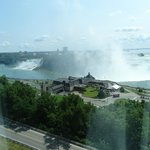 American Falls and Canadian Falls - view from living room