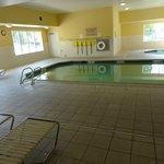 pool, left