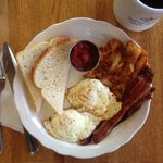 The Jump Starter Breakfast Plate