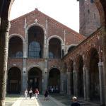 Photo of Basilica di Sant'Ambrogio taken with TripAdvisor City Guides