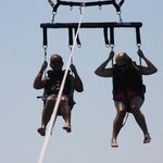 must go parasailing