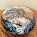 Glass ocean ball