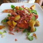 Ham Hock and potato salad