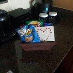 Welcome basket for Honeymoon