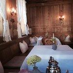 une salle petit dejeuner