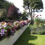 Flower Garden at Appleby Manor Country House Hotel